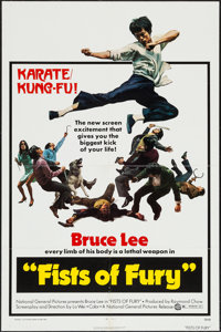 "Fists of Fury (National General, 1973). One Sheet (27"" X 41""), Photos (24) (8"" X 10"") & Press Ma..."