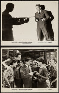 """Movie Posters:Crime, Angels with Dirty Faces (Dominant Pictures, R-1956). Photos (2) (8""""X 10""""). Crime.. ... (Total: 2 Items)"""