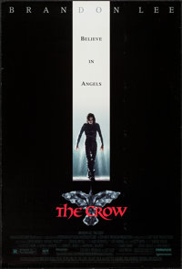 """The Crow (Miramax, 1994). One Sheet (27"""" X 40"""") SS. Action"""