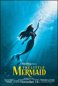 "The Little Mermaid (Buena Vista, R-1997). One Sheet (27"" X 40"") DS Advance. Animation"