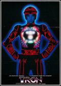 "Movie Posters:Science Fiction, Tron (Walt Disney Production, 1982). Japanese B2 (20.25"" X 28.5"").Science Fiction.. ..."