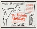 "Movie Posters:Foreign, Mr. Hulot's Holiday (Continental, R-1960s). Half Sheet (22"" X 28""). Foreign.. ..."