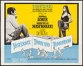 "Movie Posters:Foreign, Yesterday, Today and Tomorrow (Embassy, 1964). Half Sheet (22"" X28""). Foreign.. ..."