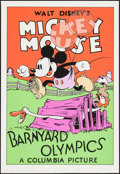 "Movie Posters:Animation, Barnyard Olympics (Circle Fine Art, R-1980s). Fine Art Seriagraphs (5) (21"" X 30.75""). Animation.. ... (Total: 5 Items)"