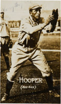 """Baseball Cards:Singles (Pre-1930), Signed 1914 E224 """"Texas Tommy"""" Type 2 Harry Hooper With FullPSA/DNA Letter. ..."""