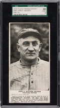 Baseball Cards:Singles (Pre-1930), 1916 D381 Fleischmann Bakery Honus Wagner, With Rare Coupon SGC 30Good 2 - Highest Graded Example! ...