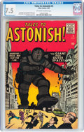 Silver Age (1956-1969):Mystery, Tales to Astonish #3 (Marvel, 1959) CGC VF- 7.5 Off-white to whitepages....