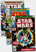 Bronze Age (1970-1979):Science Fiction, Star Wars #1-3 Group (Marvel, 1977).... (Total: 3 Comic Books)