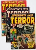 Golden Age (1938-1955):Horror, Adventures Into Terror Group of 10 (Atlas, 1951-54) Condition:Average FR.... (Total: 10 Comic Books)