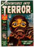 Golden Age (1938-1955):Horror, Adventures Into Terror #22 (Atlas, 1953) Condition: VG....