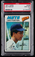 Baseball Cards:Singles (1970-Now), 1977 Topps Leo Foster #458 PSA Gem Mint 10 - Pop Three. ...