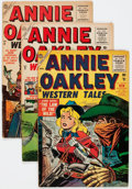 Golden Age (1938-1955):Romance, Annie Oakley #5-11 Group (Timely/Atlas, 1955-56) Condition: AverageVG-.... (Total: 7 Comic Books)