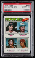 Baseball Cards:Singles (1970-Now), 1977 Topps Rookie Pitchers #478 PSA Gem Mint 10....