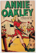 Golden Age (1938-1955):Western, Annie Oakley #1 (Timely/Atlas, 1948) Condition: FN-....