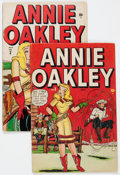 Golden Age (1938-1955):Romance, Annie Oakley #2 and 3 Group (Timely/Atlas, 1948).... (Total: 2Comic Books)