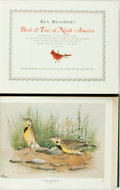 Books:Natural History Books & Prints, Rex Brasher. Birds and Trees of North America. New York: Rowman and Littlefield, 1961. 875 color plates. Two oblong ... (Total: 2 Items)