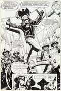 Original Comic Art:Splash Pages, Tim Truman Starslayer #14 Grimjack Splash Page 1 OriginalArt (First, 1984)....