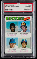 Baseball Cards:Singles (1970-Now), 1977 Topps Rookie Infielders #494 PSA Gem Mint 10....