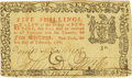 Colonial Notes:New York, State of New York February 8, 1788 5 Shillings Fr. NY-230. PCGSVery Fine 30PPQ.. ...