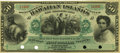 Obsoletes By State:Hawaii, Hawaiian Islands $50 No Date (1879) Silver Certificate of DepositSCWPM 3b Remainder. PCGS Choice About New 58.. ...