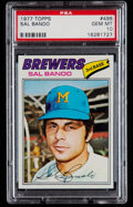 Baseball Cards:Singles (1970-Now), 1977 Topps Sal Bando #498 PSA Gem Mint 10 - Pop Four. ...
