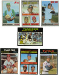 Baseball Cards:Lots, 1970-1972 Topps Baseball Group Lot of 124. Nice group of early 1970s Topps baseball cards. Includes 1970 Topps #10 Carl Yas...