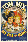 "Movie Posters:Western, My Pal, the King (Universal, 1932). One Sheet (27"" X 41""). ..."