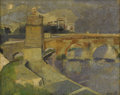 Fine Art - Painting, European:Contemporary   (1950 to present)  , MARCELLO AVENALI (Italian 1912-1981). TITLE. Oil on canvas. 15-3/4 x 19-3/4 inches (40.0 x 50.2 cm). Signed at lower rig...