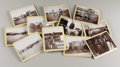 """Photography:Official Photos, INTERESTING ELEVEN IMAGE COLLECTION OF LIFE ON A CATTLE/HORSE RANCHSet of 11 4.75"""" x 3.5"""" photographs depicting ranching sc... (Total:1 Item)"""