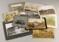 Photography:Cabinet Photos, LOT OF NINE HOMESTEAD IMAGES - ca.1880-90. This lot featurespioneer and homestead images from North and South Dakota, Nebra...(Total: 9 Item)