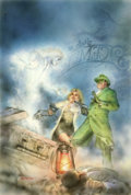 Original Comic Art:Covers, Mike Okamoto - The Green Hornet #21 Cover Illustration Original Art(Now, 1993). ...