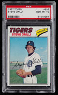 Baseball Cards:Singles (1970-Now), 1977 Topps Steve Grilli #506 PSA Gem Mint 10....