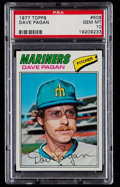 Baseball Cards:Singles (1970-Now), 1977 Topps Dave Pagan #508 PSA Gem Mint 10 - Pop Four. ...