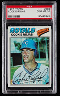 Baseball Cards:Singles (1970-Now), 1977 Topps Cookie Rojas #509 PSA Gem Mint 10....
