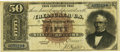 Large Size:Silver Certificates, Fr. 328 $50 1880 Silver Certificate PCGS Very Fine 30.. ...