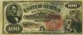 Large Size:Legal Tender Notes, Fr. 168 $100 1869 Legal Tender PCGS Very Fine 30.. ...