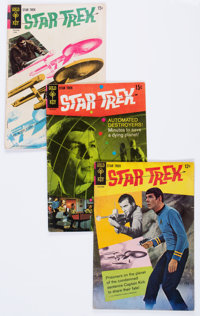 Star Trek Group of 65 (Gold Key, 1968-78) Condition: Average GD.... (Total: 65 Comic Books)