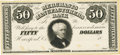 Obsoletes By State:Connecticut, Hartford, CT - Merchants and Manufacturers Bank $50 18__ CT-190 UNL. Proof. PCGS Very Choice New 64 Apparent.. ...