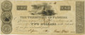 Obsoletes By State:Florida, Tallahassee, FL - Territory of Florida $2 June 1, 1830 Cr.T9 Benice 7. PCGS Choice New 63 Apparent.. ...
