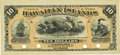 Obsoletes By State:Hawaii, Hawaiian Islands $10 No Date (1880) Silver Certificate of Deposit SCWPM 1b. Remainder. PCGS Choice About New 55.. ...