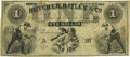 Obsoletes By State:Iowa, Camanche, IA - Butcher, Dailey & Co. $1 185_ Oakes 19-UNL.Remainder. PCGS Very Fine 20.. ...