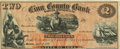 Obsoletes By State:Iowa, Marion, IA- Linn County Bank-Winslow, Stephens & Co. $2 April5, 1861 Oakes 96-2. Remainder. PCGS Choice About New 58.. ...