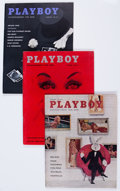Magazines:Miscellaneous, Playboy 1958 and 1959 Complete Years Group (1958-59). Condition: Average FN/VF. ... (Total: 24 Items)