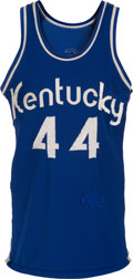 Basketball Collectibles:Uniforms, 1970-74 Dan Issel Game Worn Kentucky Colonels Rookie-Era Uniform,MEARS A10....