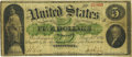 Large Size:Demand Notes, Fr. 4 $5 1861 Demand Note PCGS Fine 12 Apparent.. ...