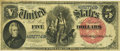 Large Size:Legal Tender Notes, Fr. 75 $5 1880 Legal Tender PCGS Very Fine 30.. ...