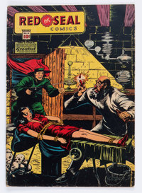 Red Seal Comics #14 (Chesler, 1945) Condition: GD+