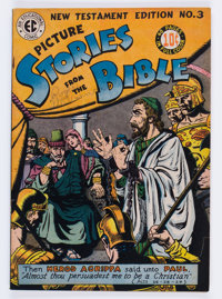 Picture Stories from the Bible: New Testament Edition #3 (EC, 1946) Condition: FN+