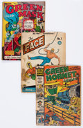 Golden Age (1938-1955):Miscellaneous, Comic Books - Assorted Golden Age Comics Group of 8 (Various Publishers, 1940s).... (Total: 8 Comic Books)