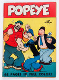 Golden Age (1938-1955):Cartoon Character, Four Color #25 Popeye (Dell, 1942) Condition: VG-....